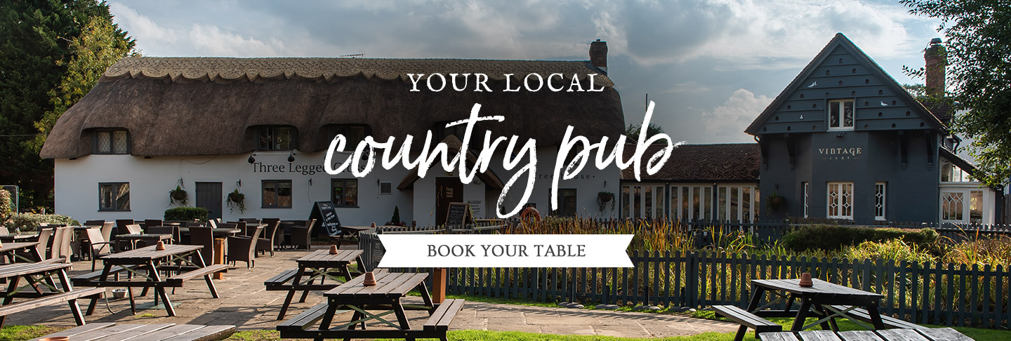Book your table at The Three Legged Cross