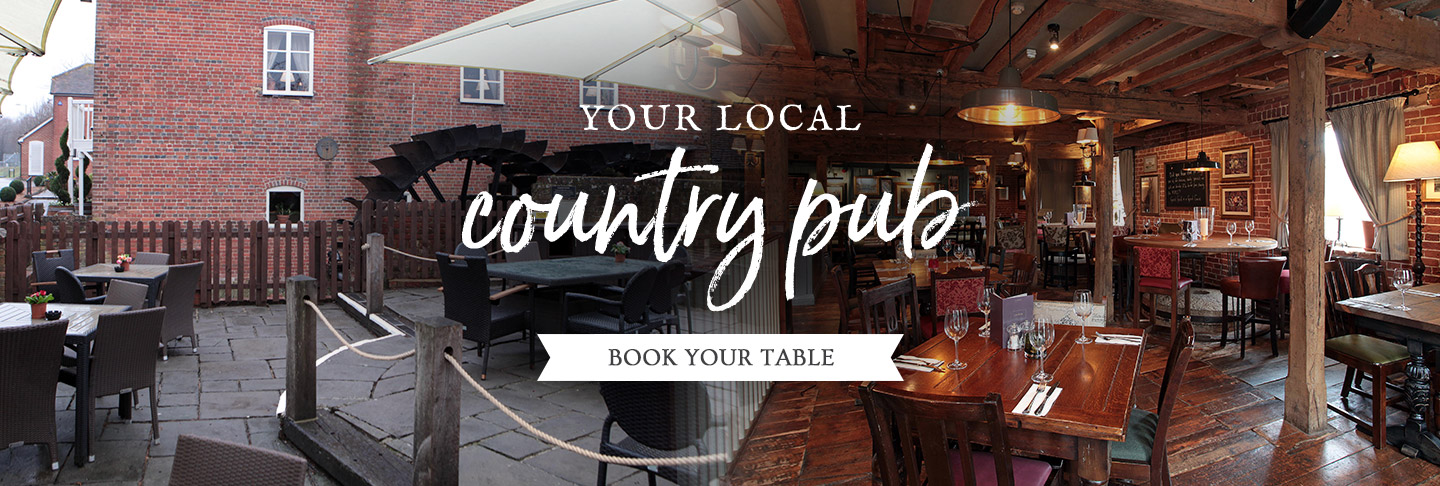 Book your table at The Titchfield Mill