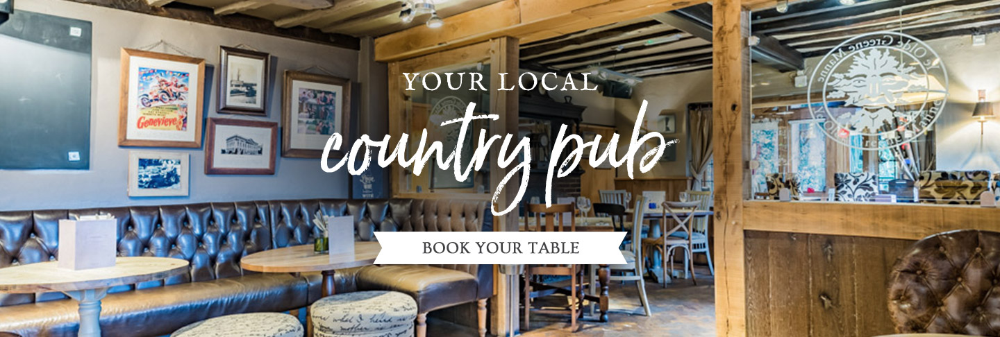 Book your table at Ye Olde Greene Manne