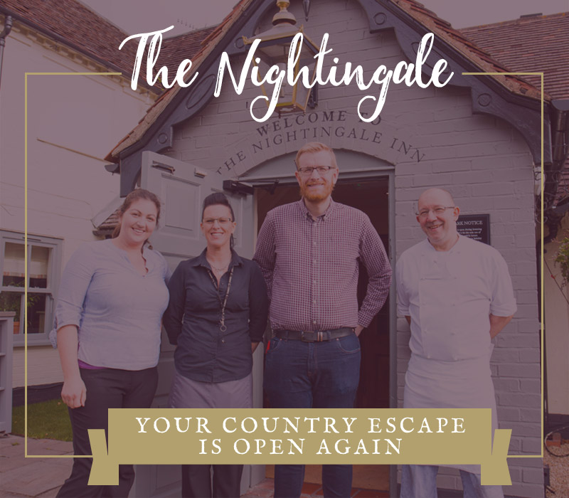The Nightingale is now open