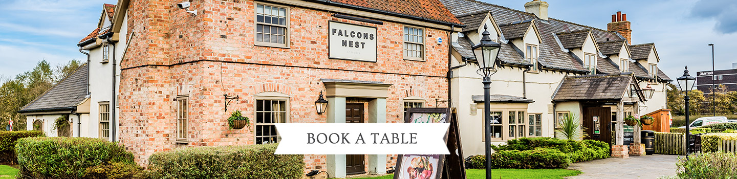 Welcome to The Falcon's Nest - Your local Vintage Inn