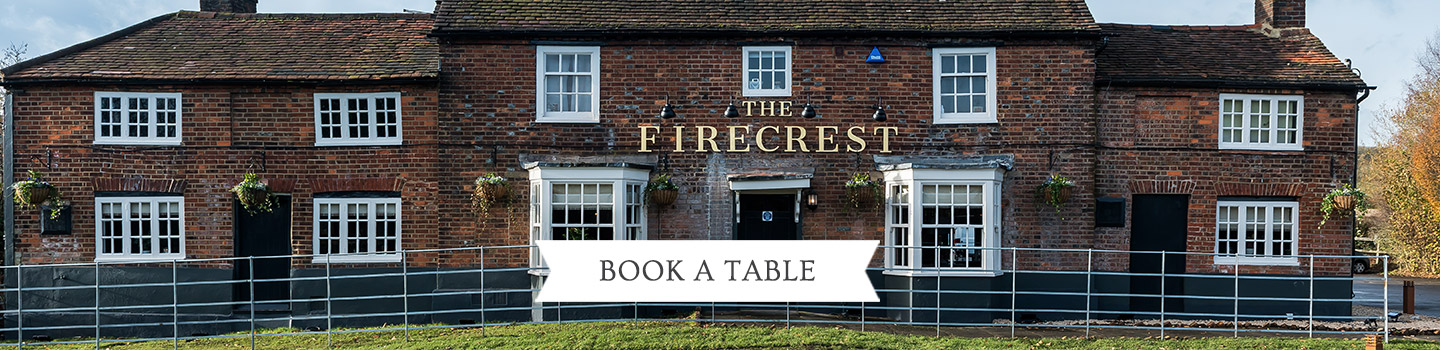 Welcome to The Firecrest - Your local Vintage Inn
