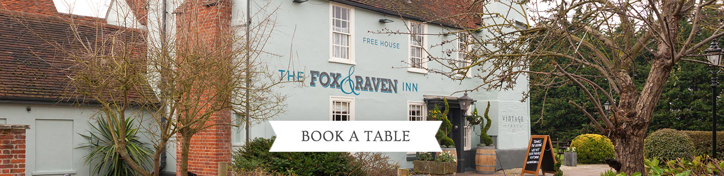 Welcome to The Fox and Raven - Your local Vintage Inn