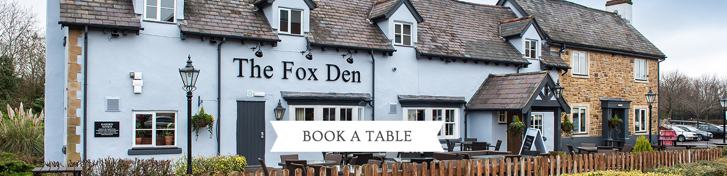 Welcome to The Fox Den - Your local Vintage Inn