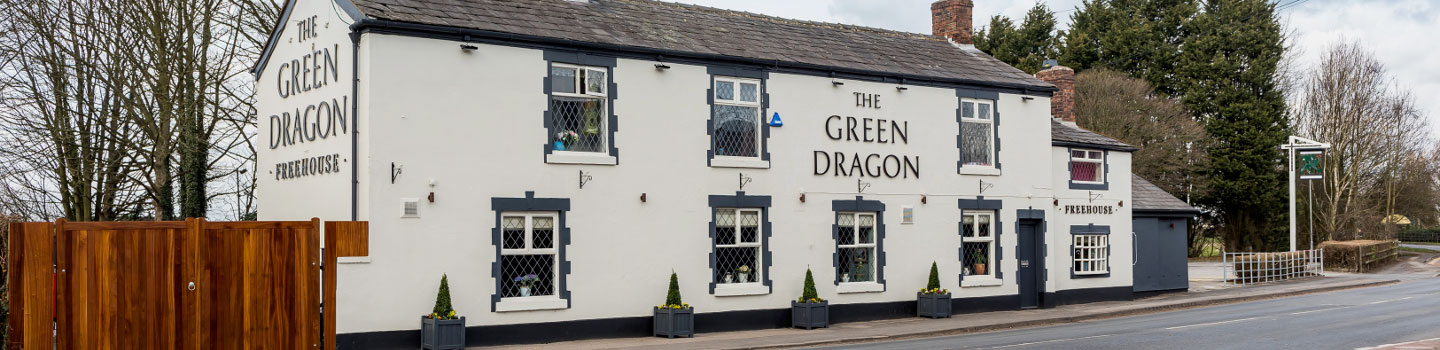 Welcome to The Green Dragon - Your local Vintage Inn