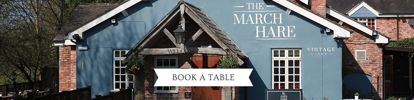 Welcome to The March Hare - Your local Vintage Inn