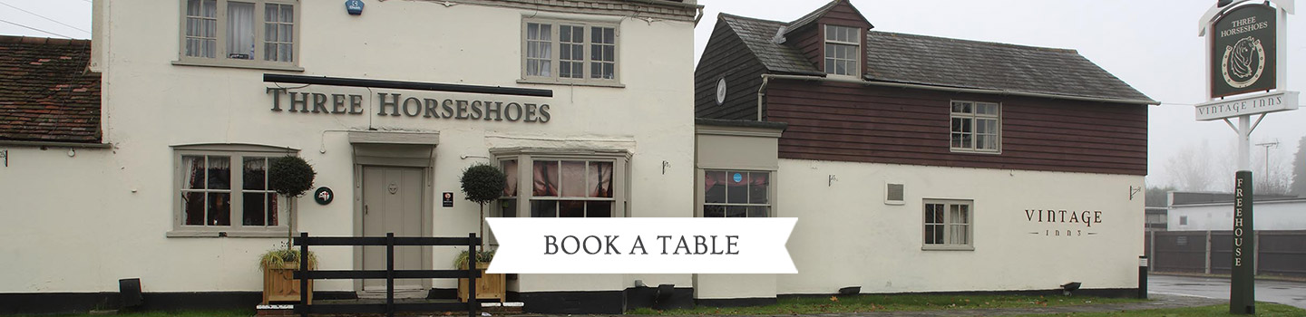 Welcome to The Three Horseshoes - Your local Vintage Inn