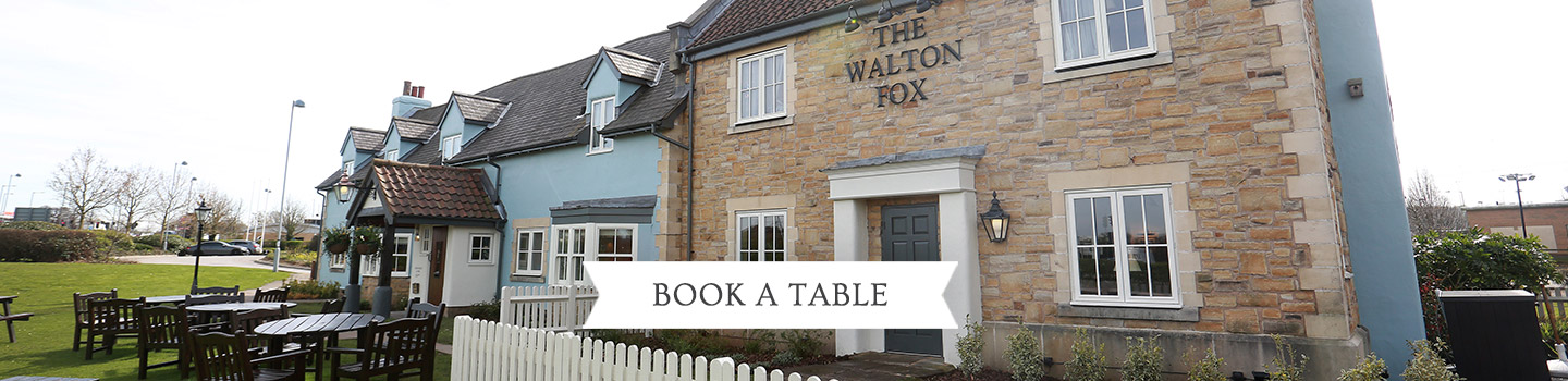 Welcome to The Walton Fox - Your local Vintage Inn