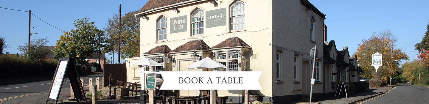 Welcome to The White Lion - Your local Vintage Inn
