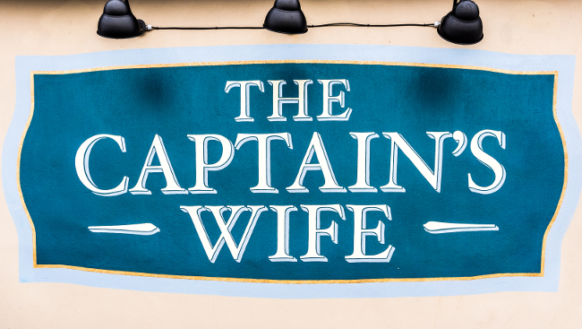 The Captain's Wife in Penarth