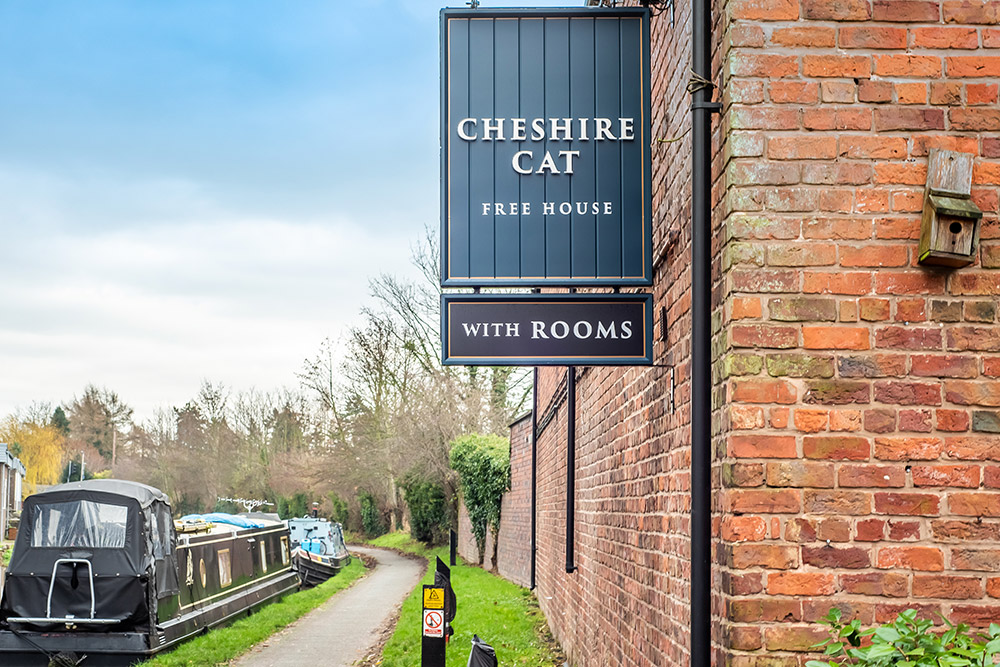 The Cheshire Cat in Christleton