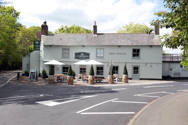 The Crown in Bransgore
