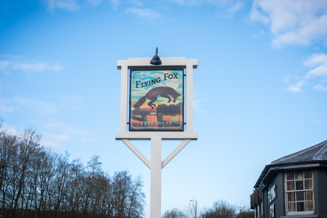 The Flying Fox in Woburn