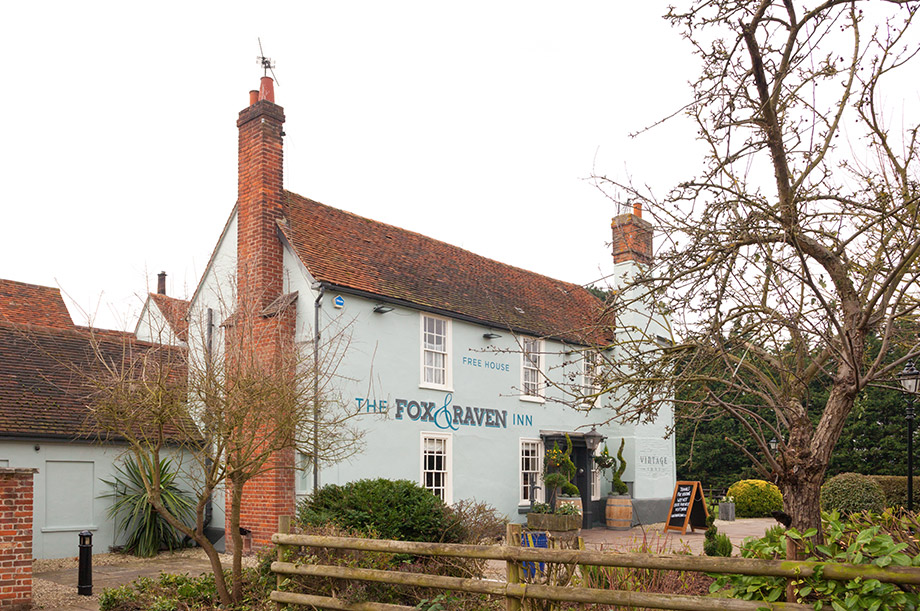 The Fox and Raven in Chelmsford