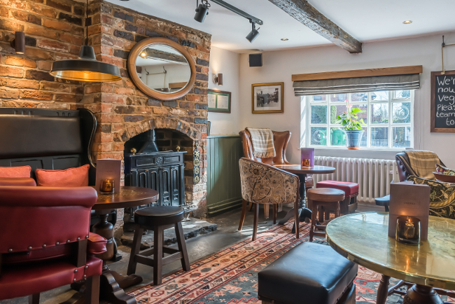 The Green Dragon in Lymm