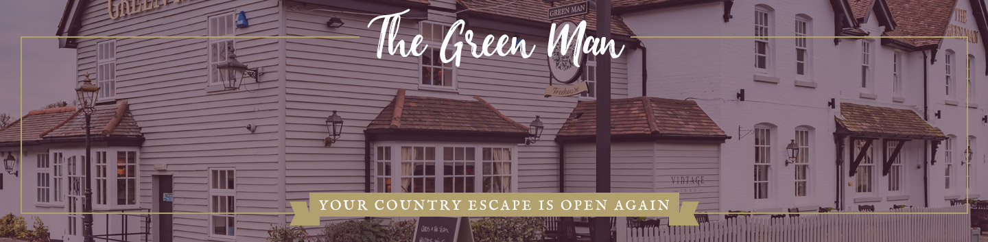 Welcome to The Green Man - Your local Vintage Inn