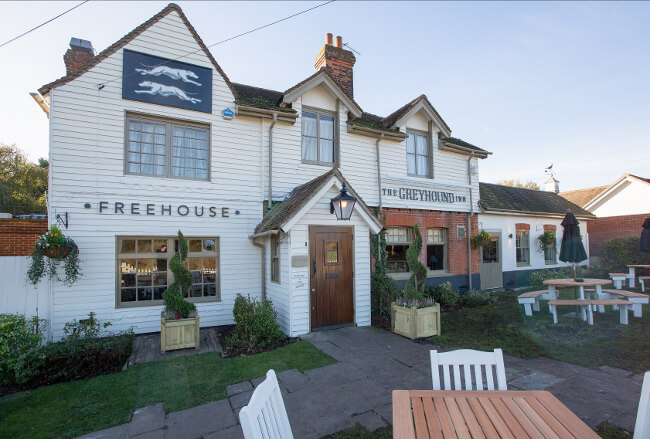 The Greyhound in Brentwood