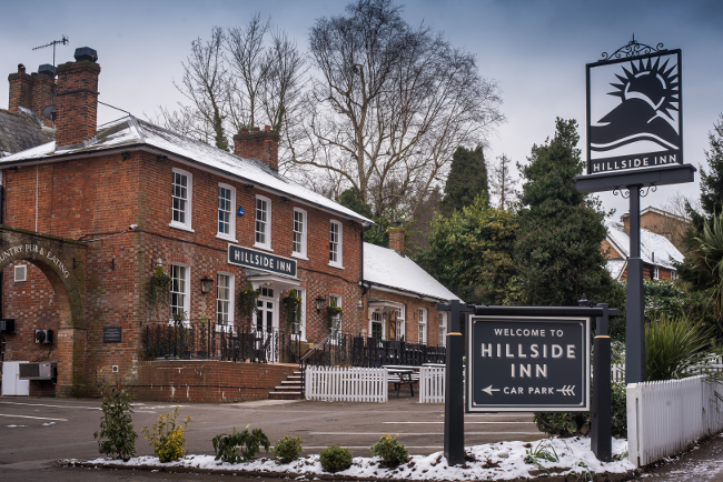 The Hillside Inn in Crawley