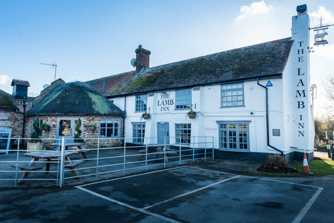 The Lamb Inn in Pevensey Marsh