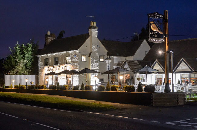 The Nightingale in Spetchley