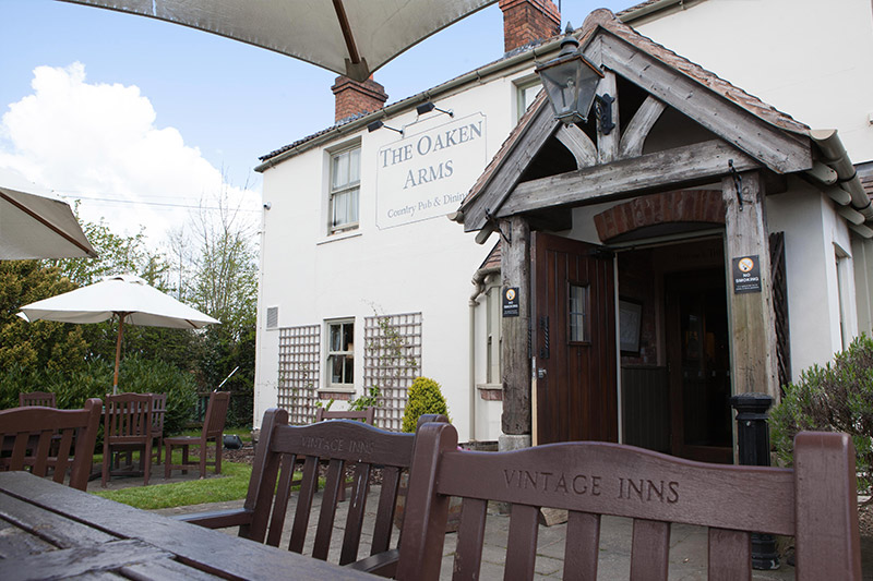 The Oaken Arms in Oaken