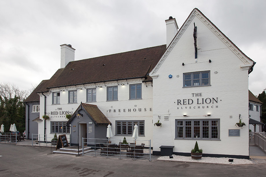 The Red Lion in Alvechurch