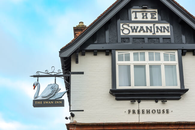 The Swan Inn in Horning
