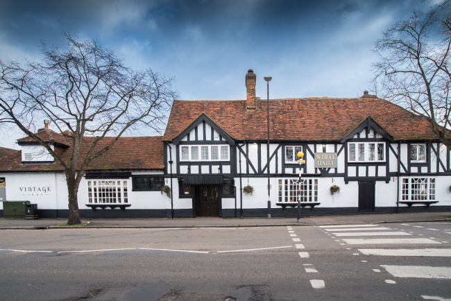 The White Hart in Beaconsfield Old Town